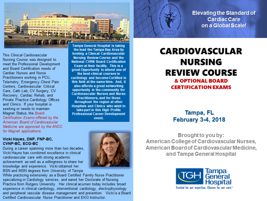 cardiac nursing Online nursing continuing education courses in cardiovascular and cardiac disease topics select a course and start earning ceus to renew your license today.